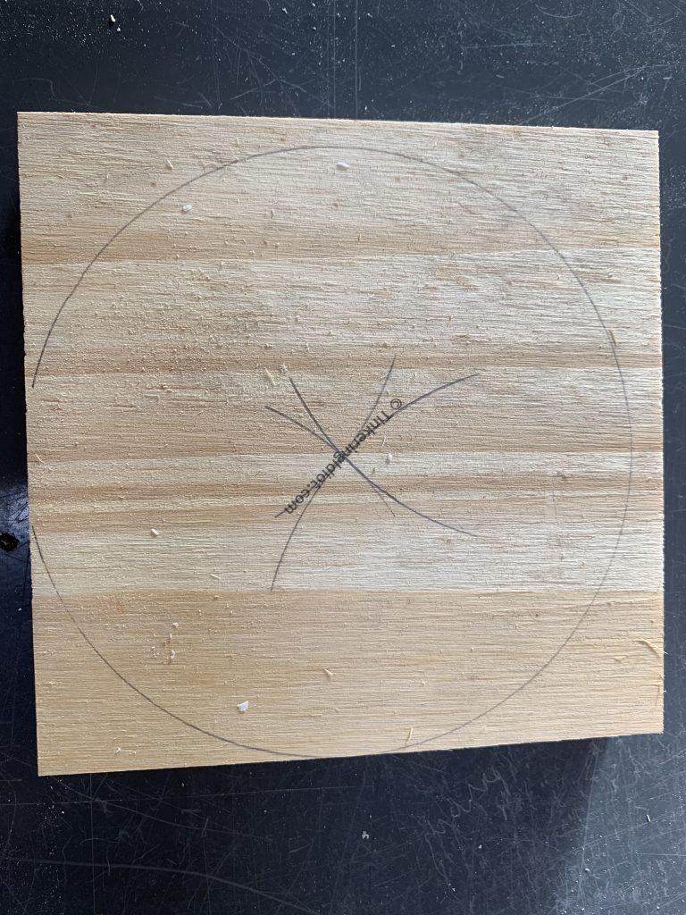 "4.5"" circle center found"