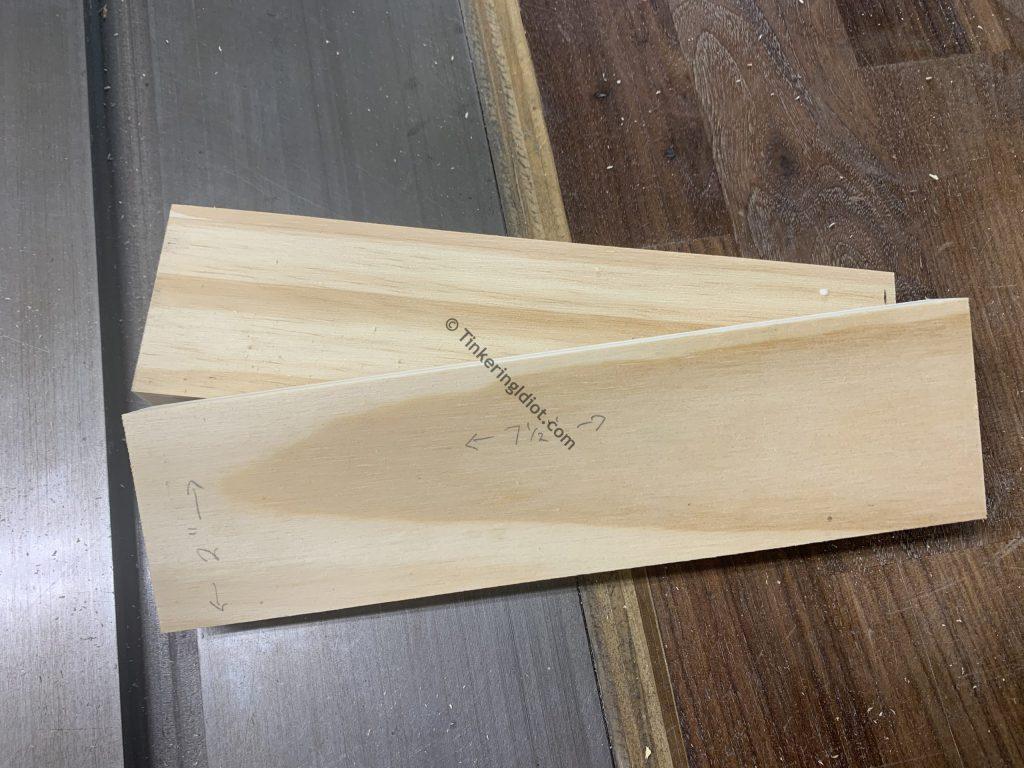 pedals first cut