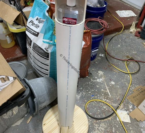 Sanitizer Bollard Part 4 – Body Building