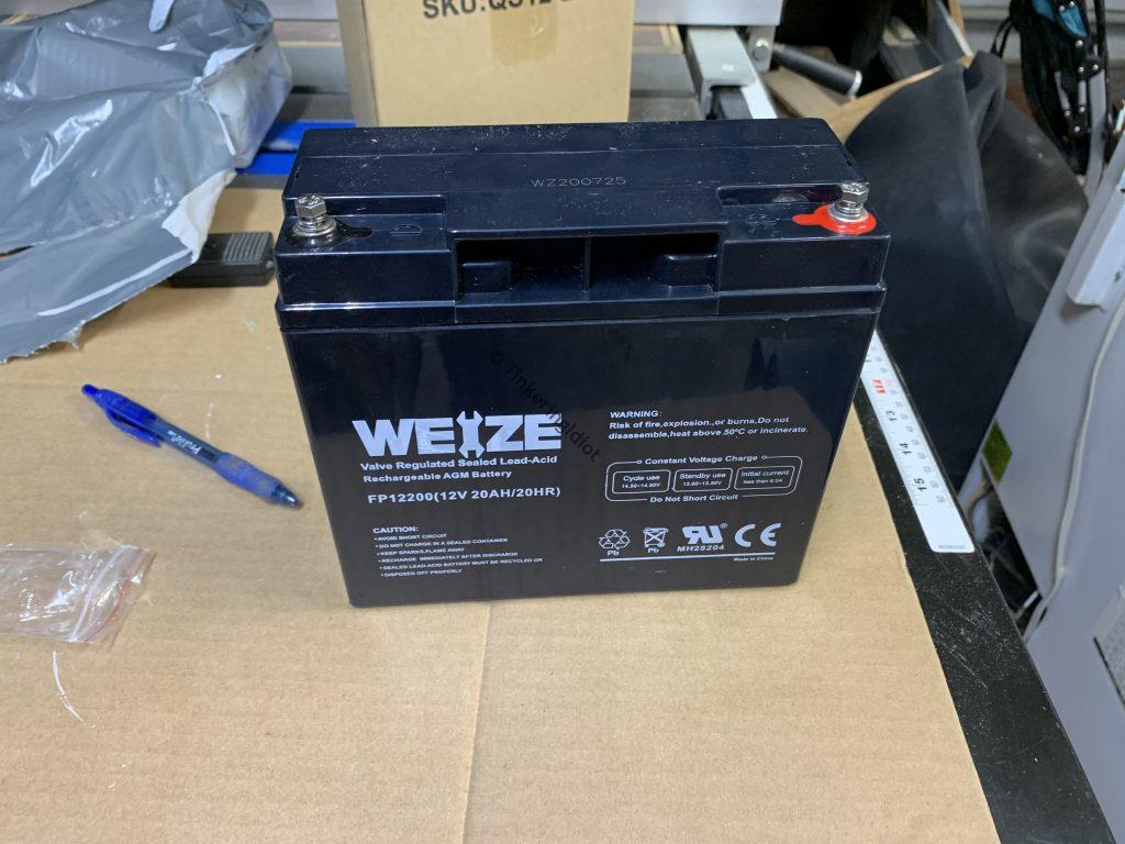 solar generator battery