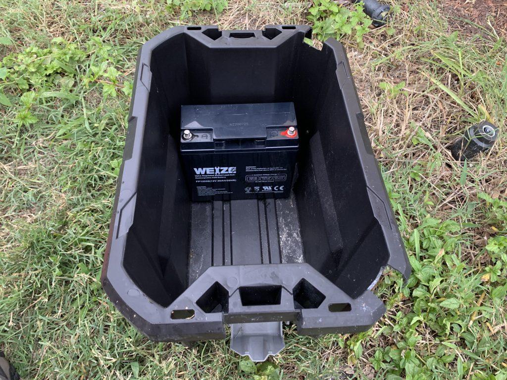 solar generator tote battery